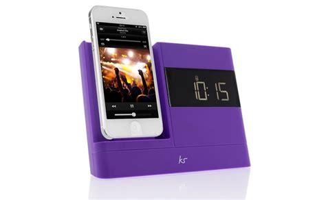 reloj despertador  base de carga  iphone  radio
