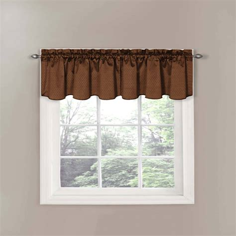 walmart kitchen curtains swag better homes and gardens check tier valance or swag
