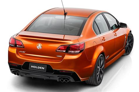 Holden Cars 2014 by 2014 Holden Vf Commodore Ss V Show Car Rear 3 4 Right