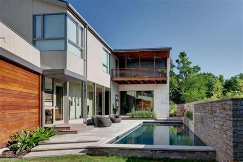 the pursuit of harmonic design house of three rooms dallas freshome - Home Design Dallas