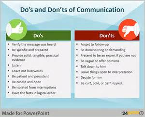 Dos And Donts Of Resume by Design Elements For Powerpoint Presentations