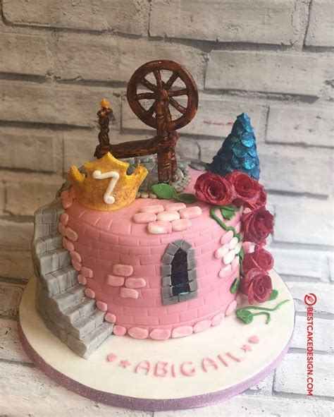 sleeping beauty cake design cake idea march