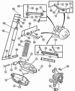 Chrysler Crossfire Camber Strut