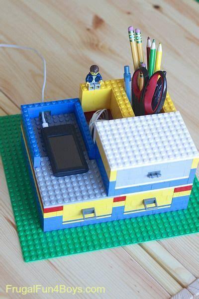 build  lego desk organizer  working drawers lego