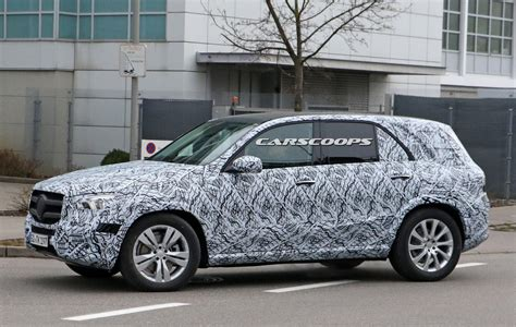 2019 Mercedesbenz Gle Sheds More Camo And Shows Off Its
