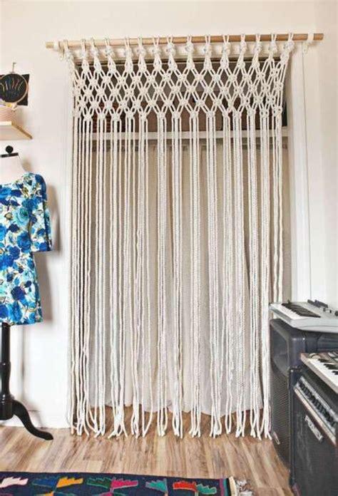 100 awesome macrame ideas diy cortinas hacer cortinas y macram 233