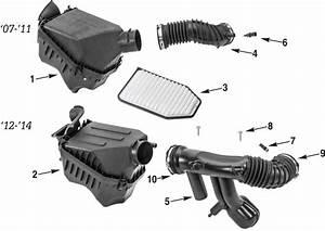 Filtro Ar Jeep Wrangler Jk 2007  U00e1 2016 - Wb4x4