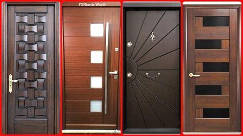 Wooden Door by Top Modern Wooden Door Designs For Home Door Design