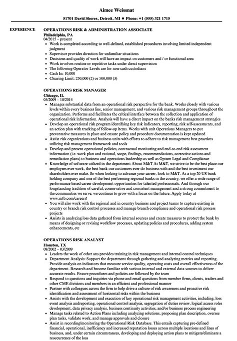 Resume Risk Management Experience by Enterprise Risk Management Resume Experience Resume