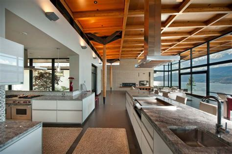 kelowna contemporary house  okanagan lake idesignarch interior design architecture