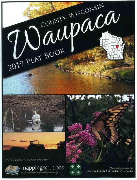 waupaca county plat book extension waupaca county