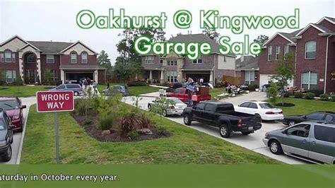 kingwood garage sales oakhurst kingwood garage