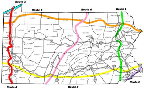 Boat Driving Age In Pennsylvania by Bicyclepa Route A