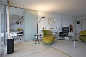 Schiebetüren Als Raumteiler : raumteiler als schiebet ren in glas ber die ganze zimmerbreite auf zu ~ Markanthonyermac.com Haus und Dekorationen