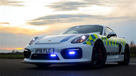 porsche cayman gt police car   wallpaper hd car