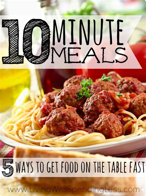 cuisine minute 10 minute meals meals easy meals get