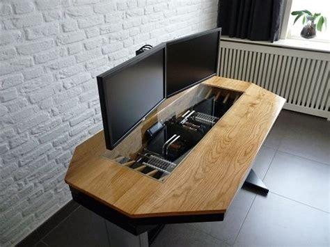design your own computer desk online build your own computer desk plans diy computer desk
