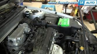 2001 hyundai elantra alternator how to replace change install spark plugs 2001 06 hyundai