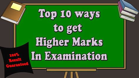 Top 10 Ways  How To Get Higher Marks In Examination  Tips And Tricks  Future Learning For All