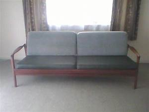 Vintage retro 3 seater fold out couch bed for sale from for Fold out sofa bed for sale