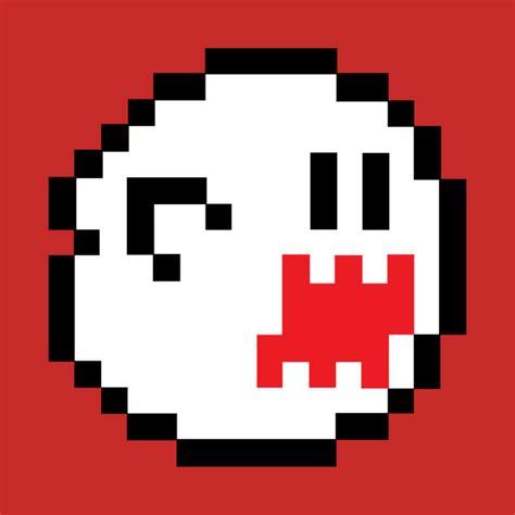 Boo 8 Bits Super Mario T Shirt Teepublic