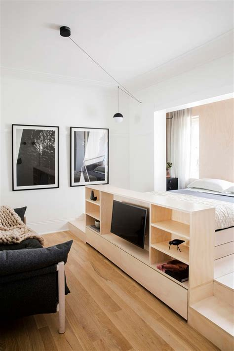 tiny apartment design  sydney au full  smart storage