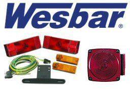 Wesbar Boat Trailer Fenders by Wesbar Trailer Light Kits Lights At Trailer Parts