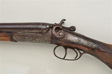 Antique Belgian Exposed Hammer Sxs Shotgun 12 Gauge 30