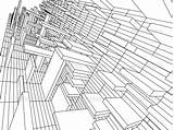 Coloring 3d Pages Architecture Printable Drawing Sketch Getdrawings Line Drawings Monochrome Getcolorings sketch template