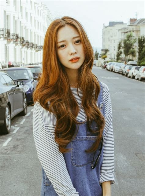 cute korean haircuts  long hair style asians