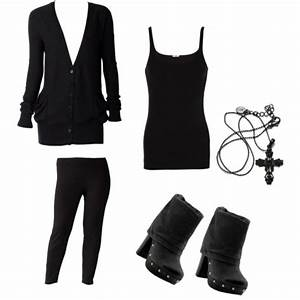 All Black Outfits Polyvore Everything Pictures to Pin on ...