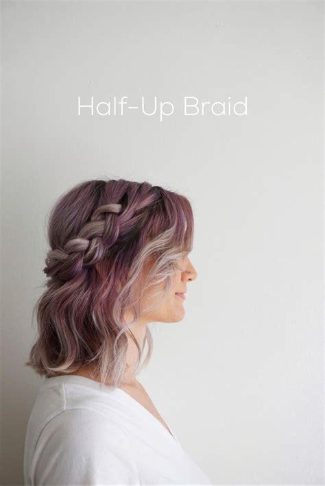 styling ideas  shoulder length hair pinned  cute