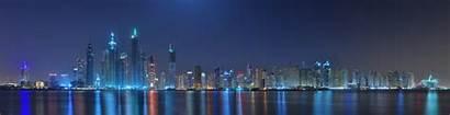 Panorama Dubai 4k Ultra Background United