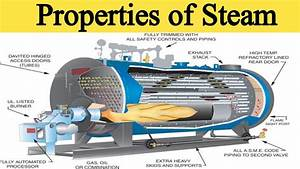 Properties Of Steam And Superheated Steam