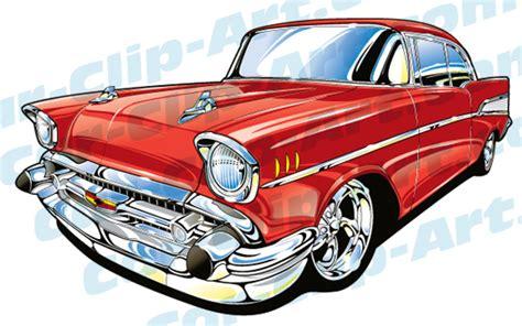 1957 Chevy Vector Clip Art