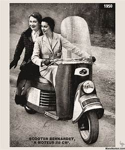 Bernardet Scooter 1950 Advert
