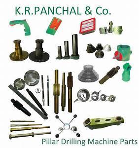 Drilling Machine Parts - Drilling Machine Parts Spares ...