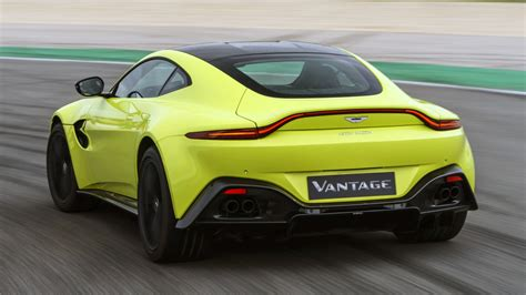2019 Aston Martin V8 Vantage Road Test Review And Specs