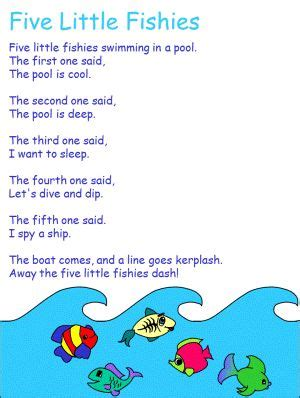 Boat Names After Songs by Five Fish Preschool Songs Fish
