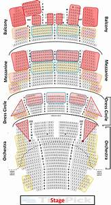 Seating Chart Bank Theater Chicago Print Hamilton In Chicago