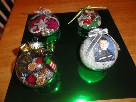 clear plastic ornaments craft ideas pinterest