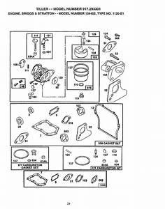 Page 31 Of Craftsman Tiller 917 293301 User Guide