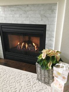 peel  stick backsplash fireplace peel  stick tiles