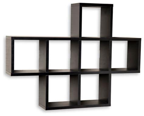 wall mounted bookcase white kellan wall mount storage