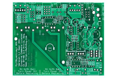 Objective Headphone Amp Pcb From Sieger Tindie