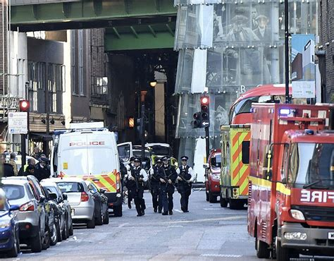 borough market attack morning after london attack heightened police presence at