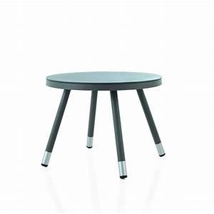 Petite Table Ronde De Jardin : table ronde de jardin en aluminium brin d 39 ouest ~ Dailycaller-alerts.com Idées de Décoration