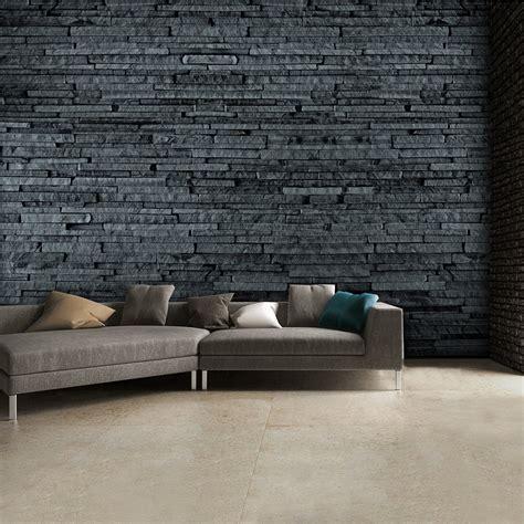 Grey Slate Wall Mural 3d Effect Wallpaper Mural  315cm X