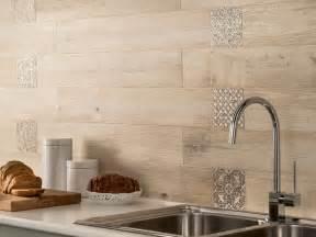 How To Do A Kitchen Backsplash Tile Wood Plank Kitchen Backsplash Home Design Ideas