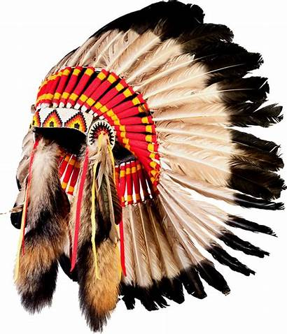 Indian American Indians Headdress Native Transparent Chief